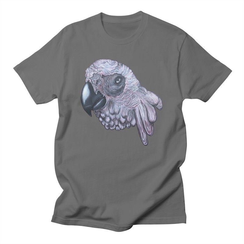 Gray Men's T-Shirt by Nicole Christman's Artist Shop