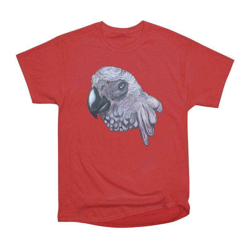Gray Men's Heavyweight T-Shirt by Nicole Christman's Artist Shop