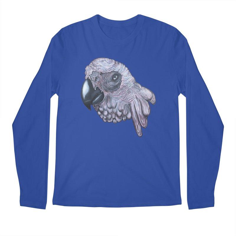 Gray Men's Regular Longsleeve T-Shirt by Nicole Christman's Artist Shop