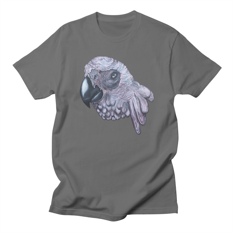 Gray Men's T-Shirt by Nicole Christman's Artist Shop