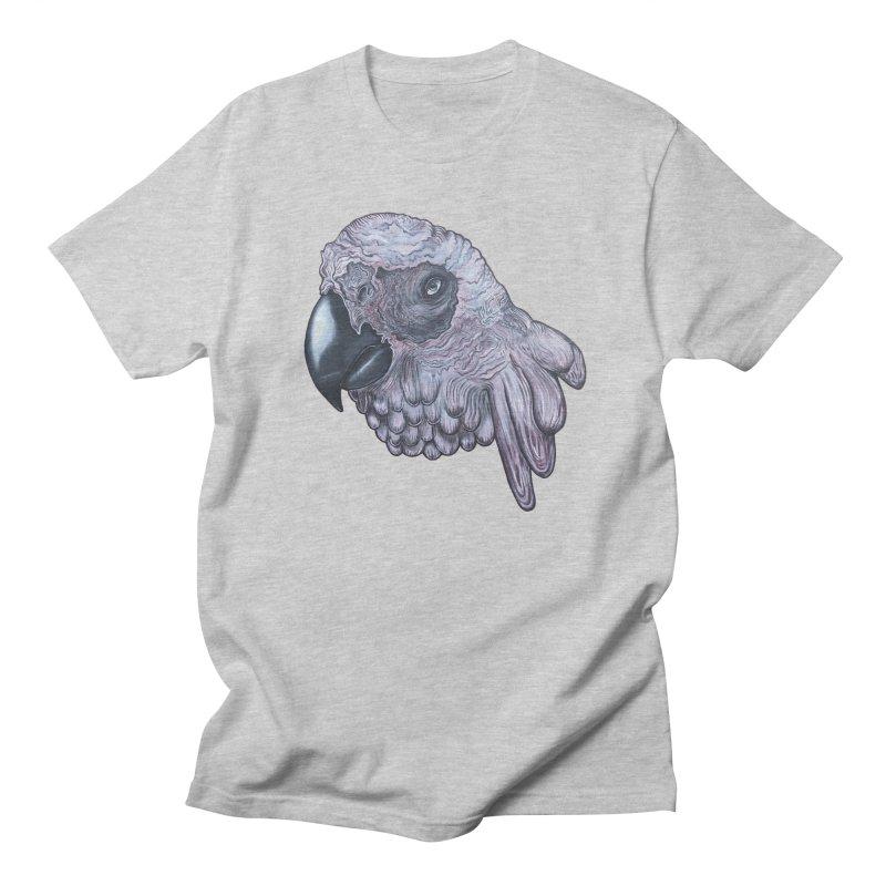 Gray Men's Regular T-Shirt by Nicole Christman's Artist Shop