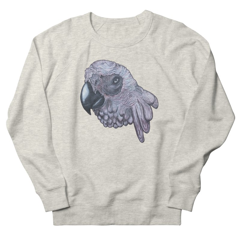 Gray Women's French Terry Sweatshirt by Nicole Christman's Artist Shop