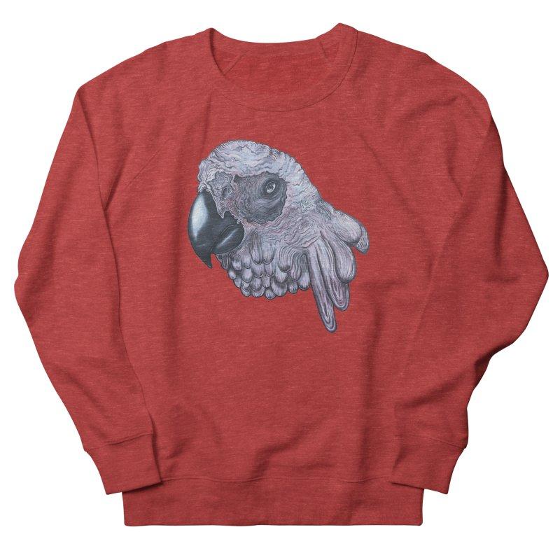 Gray Men's French Terry Sweatshirt by Nicole Christman's Artist Shop