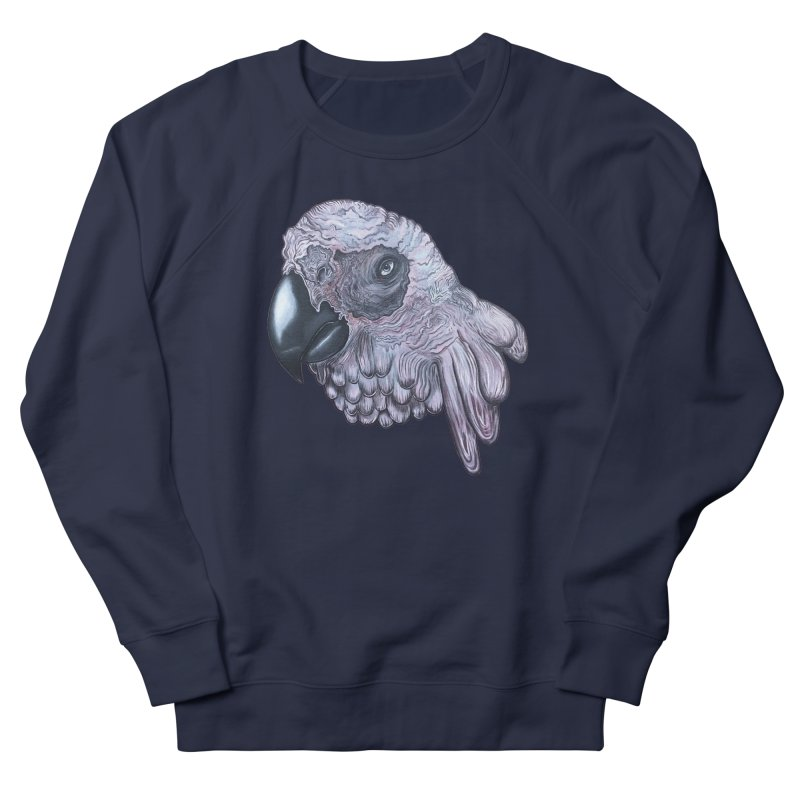 Gray Men's French Terry Sweatshirt by Nicole Christman's Artist Shop