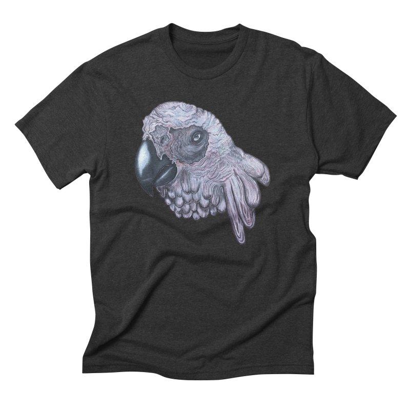 Gray Men's Triblend T-Shirt by Nicole Christman's Artist Shop
