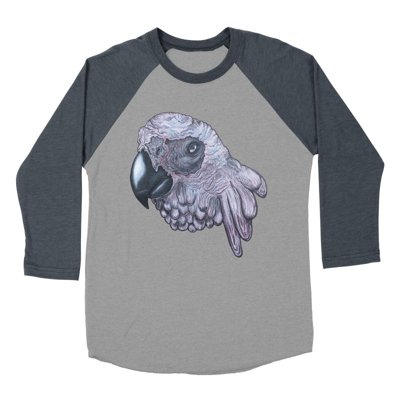 Gray Women's Baseball Triblend Longsleeve T-Shirt by Nicole Christman's Artist Shop