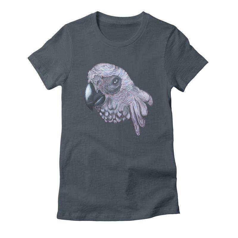 Gray Women's T-Shirt by Nicole Christman's Artist Shop