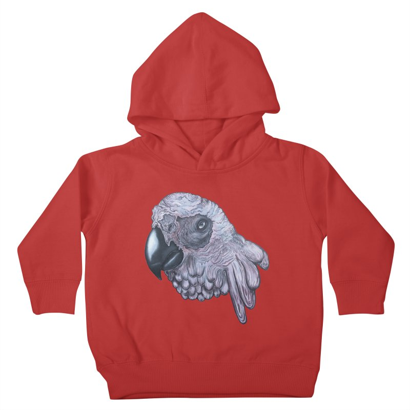 Gray Kids Toddler Pullover Hoody by Nicole Christman's Artist Shop
