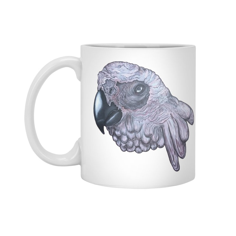 Gray Accessories Standard Mug by Nicole Christman's Artist Shop