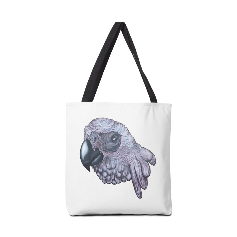 Gray Accessories Bag by Nicole Christman's Artist Shop