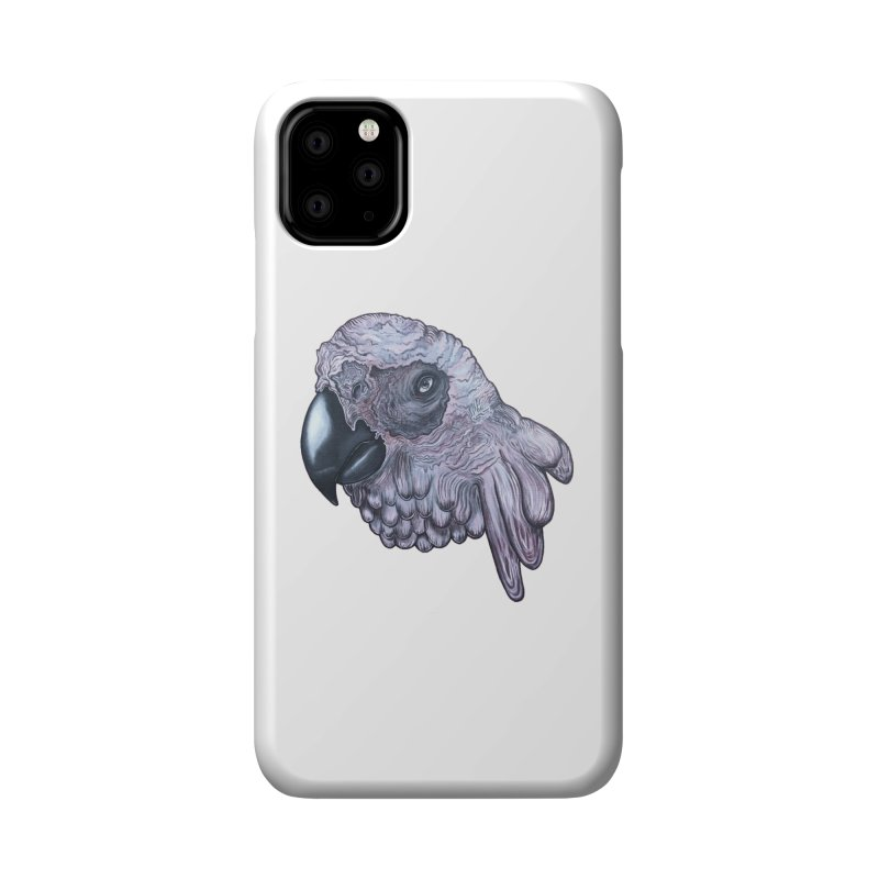 Gray Accessories Phone Case by Nicole Christman's Artist Shop