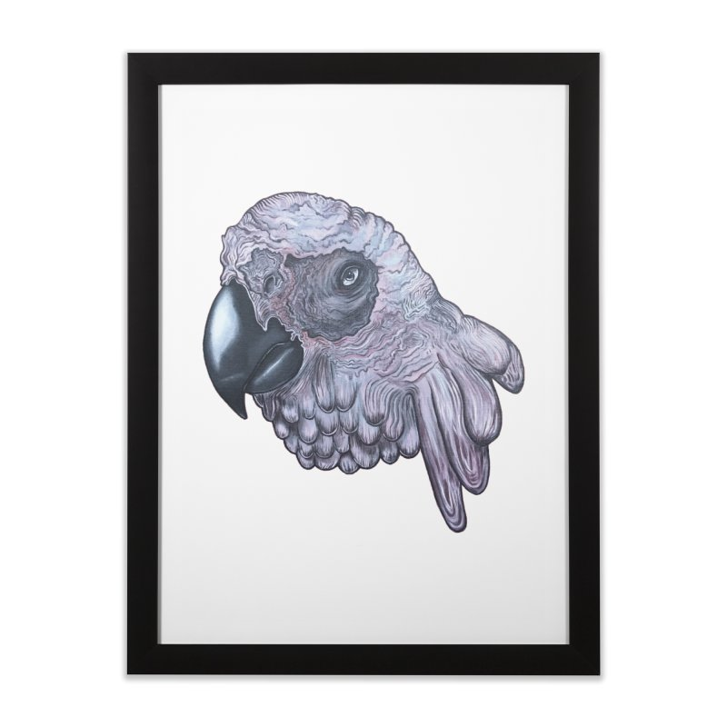 Gray Home Framed Fine Art Print by Nicole Christman's Artist Shop