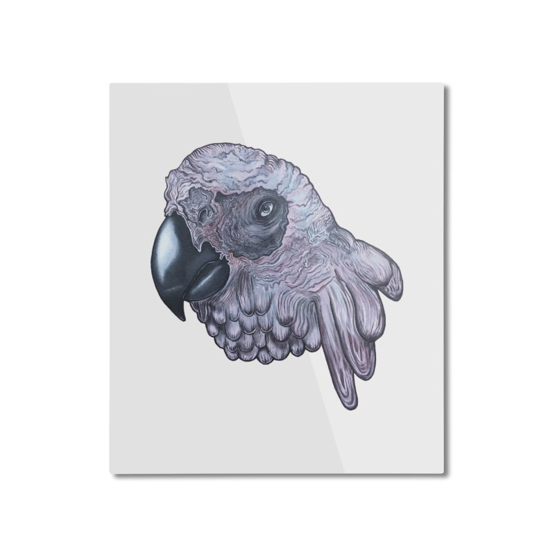 Gray Home Mounted Aluminum Print by Nicole Christman's Artist Shop