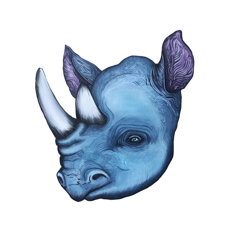 Rhino   by Nicole Christman's Artist Shop