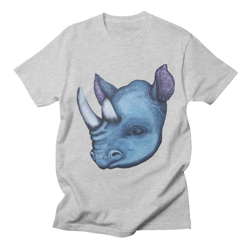 Rhino Women's Regular Unisex T-Shirt by Nicole Christman's Artist Shop