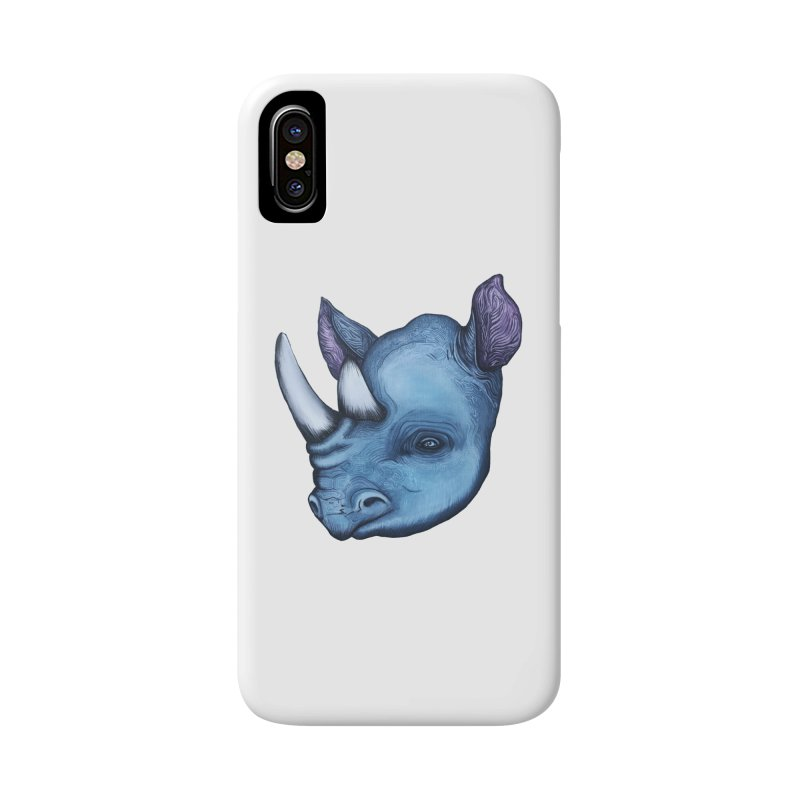 Rhino Accessories Phone Case by Nicole Christman's Artist Shop