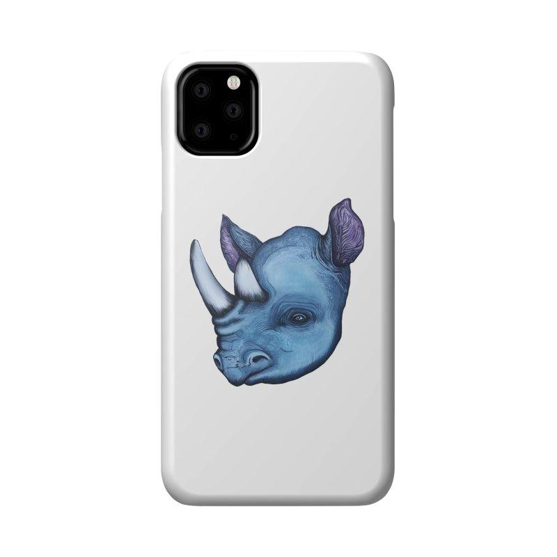 Rhino Accessories Phone Case by Nicole Christman's Artist Shop
