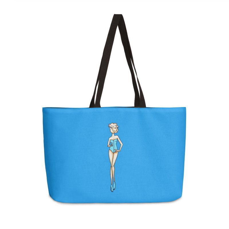 Camel Girl Accessories Weekender Bag Bag by Nicole Christman's Artist Shop