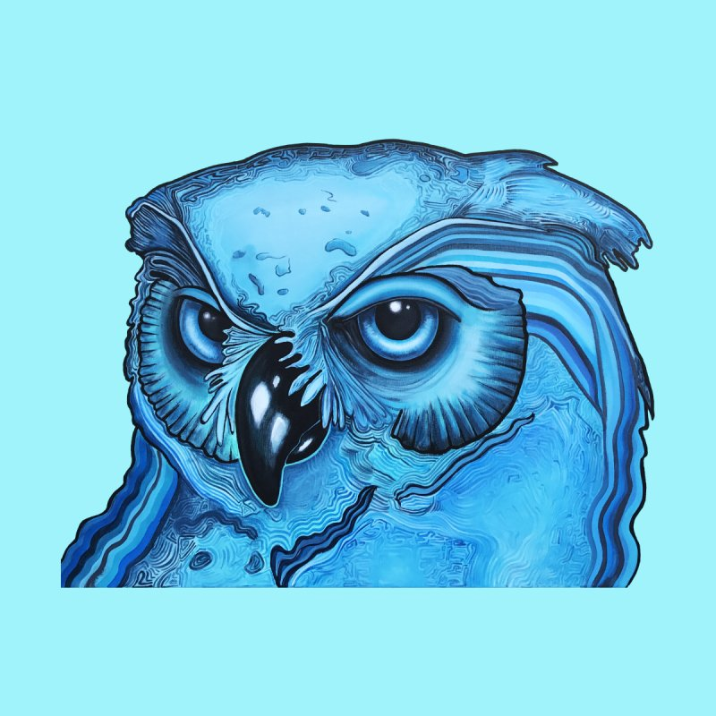 Blue Owl   by Nicole Christman's Artist Shop