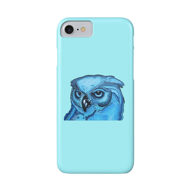 Blue Owl Accessories Phone Case by Nicole Christman's Artist Shop