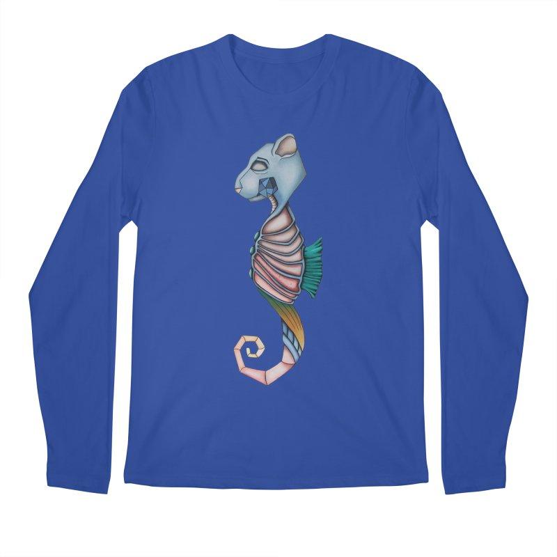 Sea Bear Men's Regular Longsleeve T-Shirt by Nicole Christman's Artist Shop