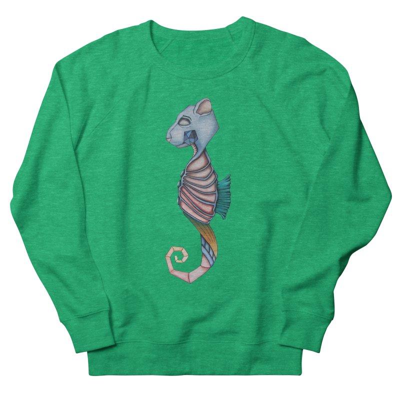 Sea Bear Men's French Terry Sweatshirt by Nicole Christman's Artist Shop
