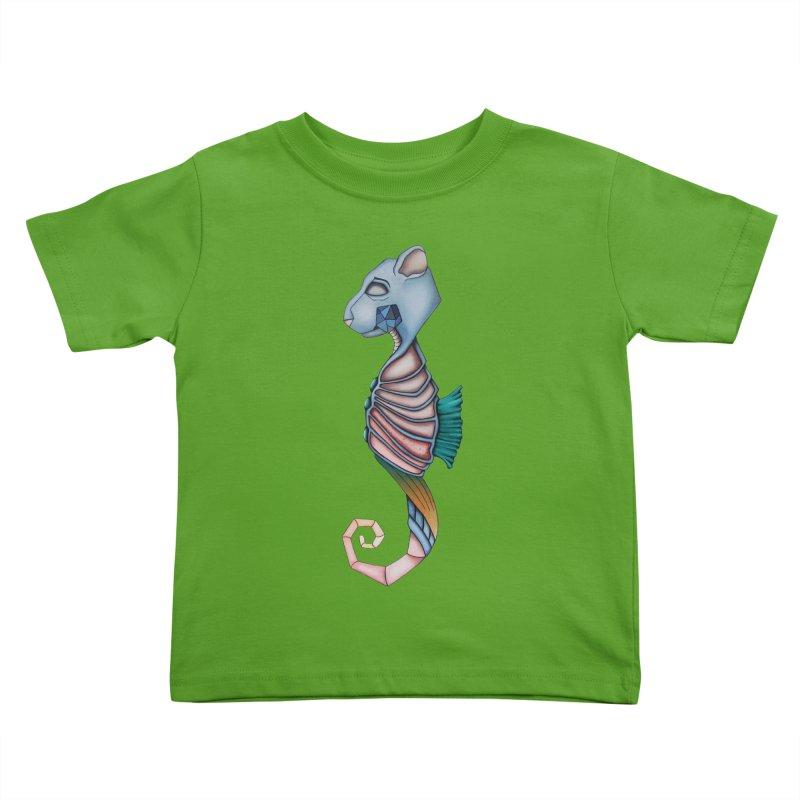 Sea Bear Kids Toddler T-Shirt by Nicole Christman's Artist Shop