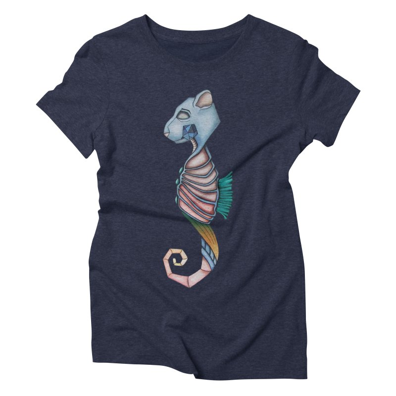 Sea Bear Women's Triblend T-Shirt by Nicole Christman's Artist Shop