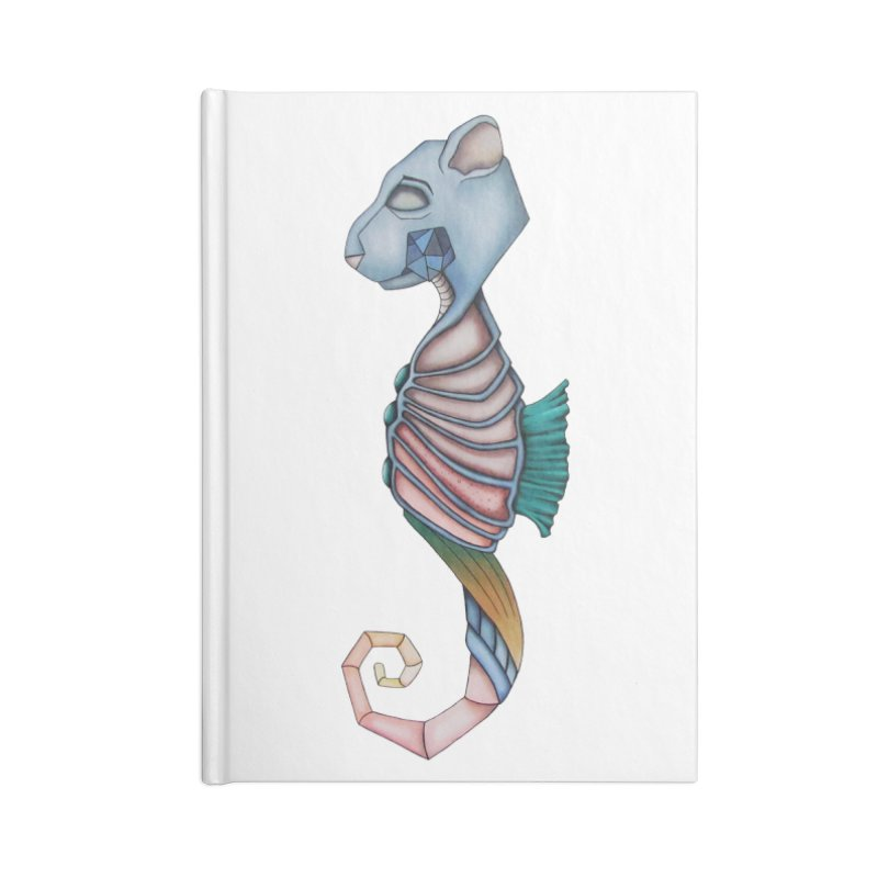 Sea Bear Accessories Lined Journal Notebook by Nicole Christman's Artist Shop