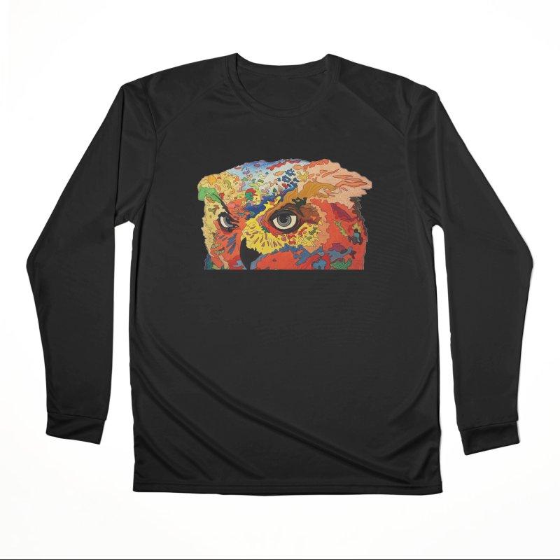Nocturnal Polka 2 Women's Longsleeve T-Shirt by Nicole Christman's Artist Shop