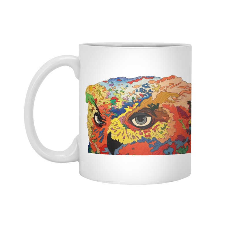 Nocturnal Polka 2 Accessories Standard Mug by Nicole Christman's Artist Shop