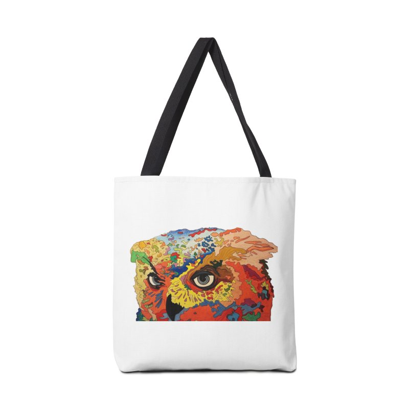 Nocturnal Polka 2 Accessories Tote Bag Bag by Nicole Christman's Artist Shop
