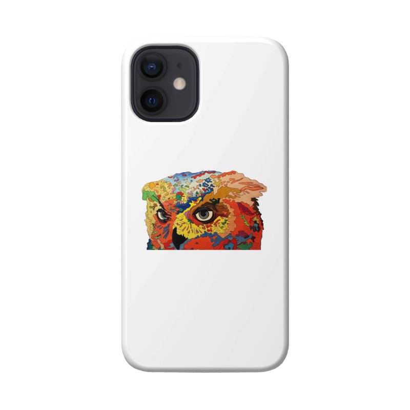 Nocturnal Polka 2 Accessories Phone Case by Nicole Christman's Artist Shop
