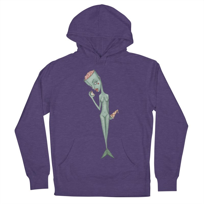 Something I Ate Women's French Terry Pullover Hoody by Nicole Christman's Artist Shop