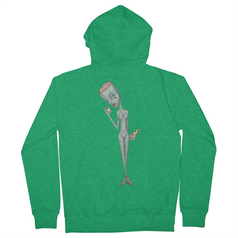 Something I Ate Women's French Terry Zip-Up Hoody by Nicole Christman's Artist Shop