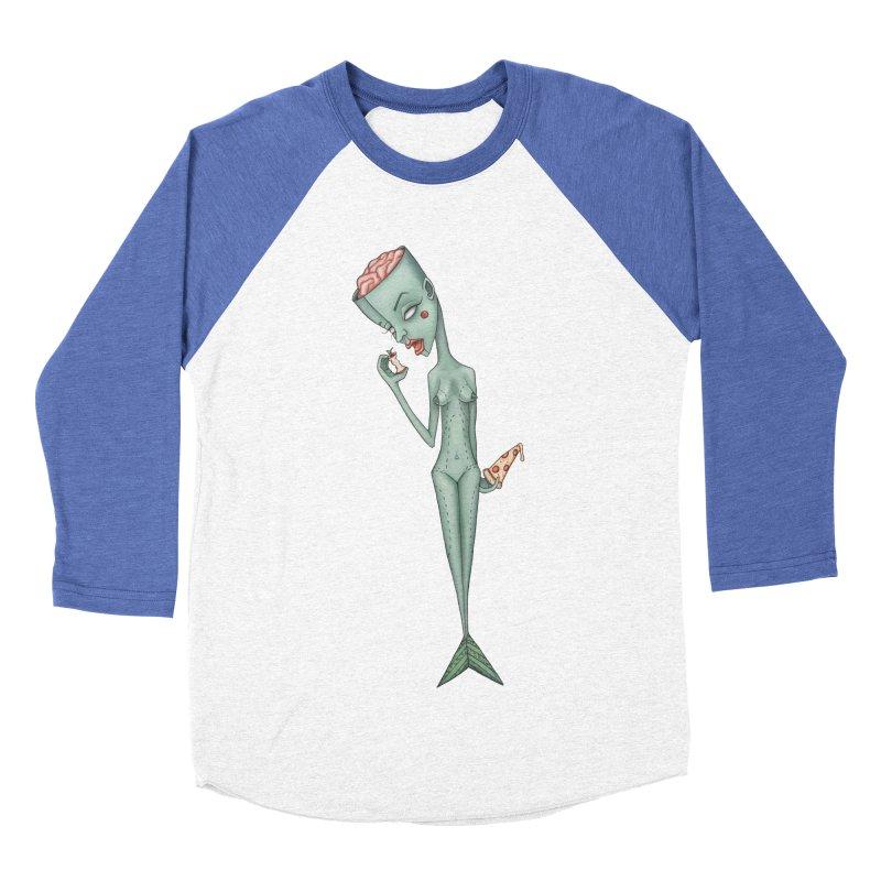 Something I Ate Women's Baseball Triblend Longsleeve T-Shirt by Nicole Christman's Artist Shop