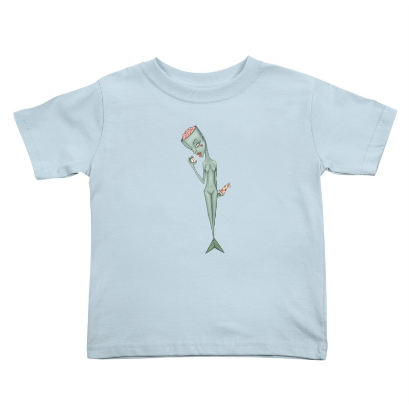 Something I Ate Kids Toddler T-Shirt by Nicole Christman's Artist Shop