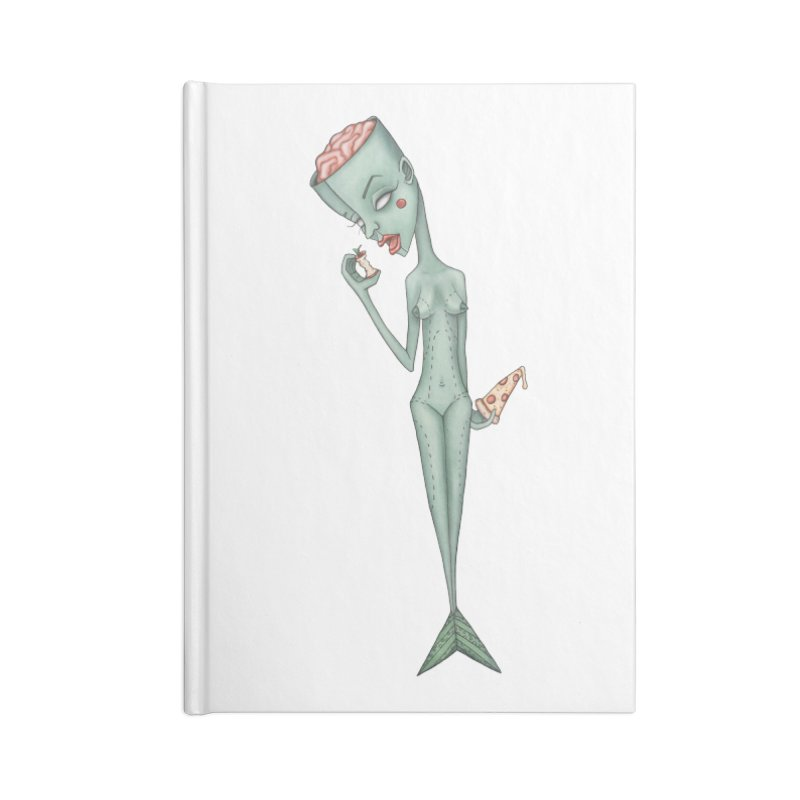 Something I Ate Accessories Blank Journal Notebook by Nicole Christman's Artist Shop