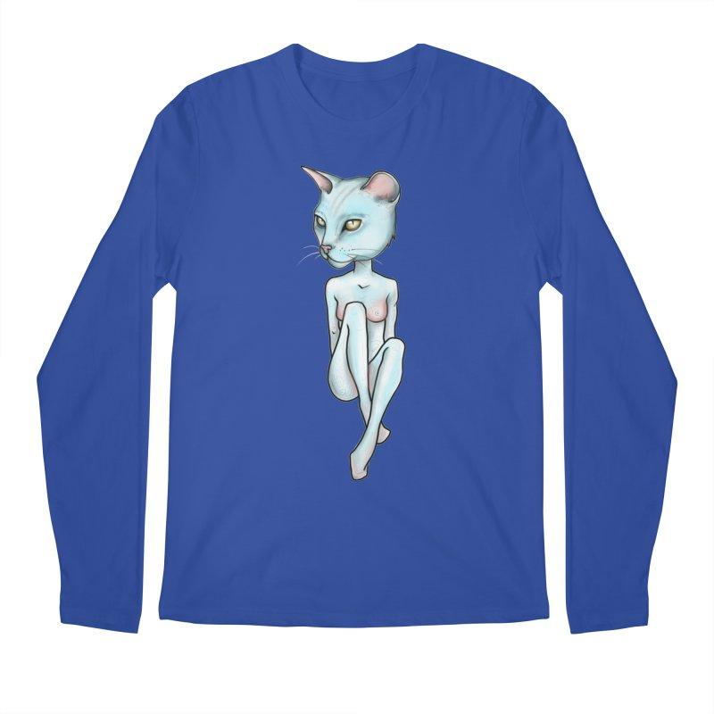 Sex Kitten Men's Regular Longsleeve T-Shirt by Nicole Christman's Artist Shop