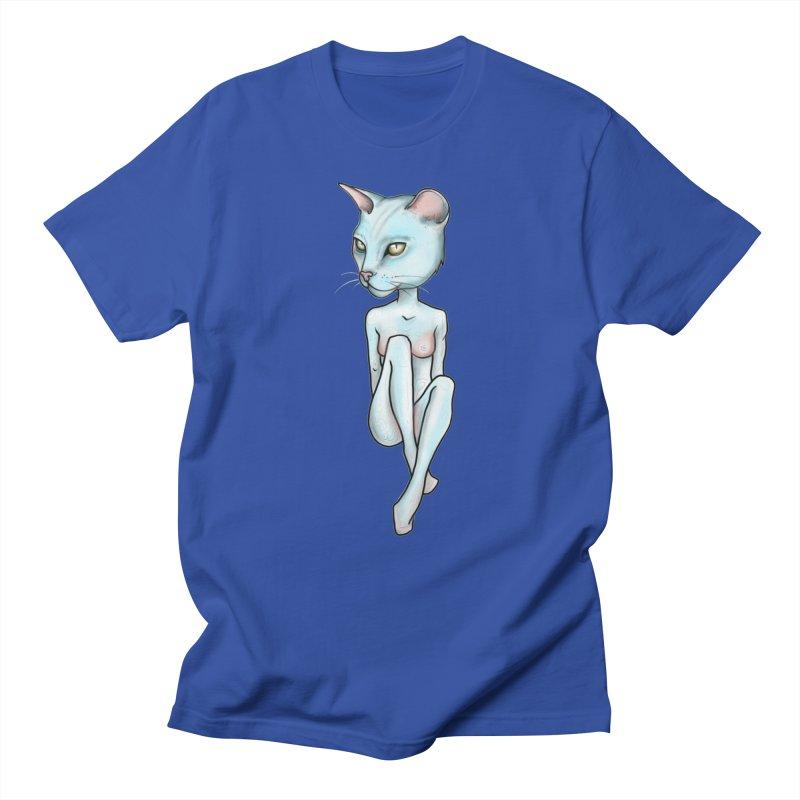 Sex Kitten Men's Regular T-Shirt by Nicole Christman's Artist Shop
