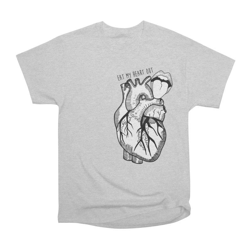 Eat My Heart Out Men's T-Shirt by Nicole Christman's Artist Shop