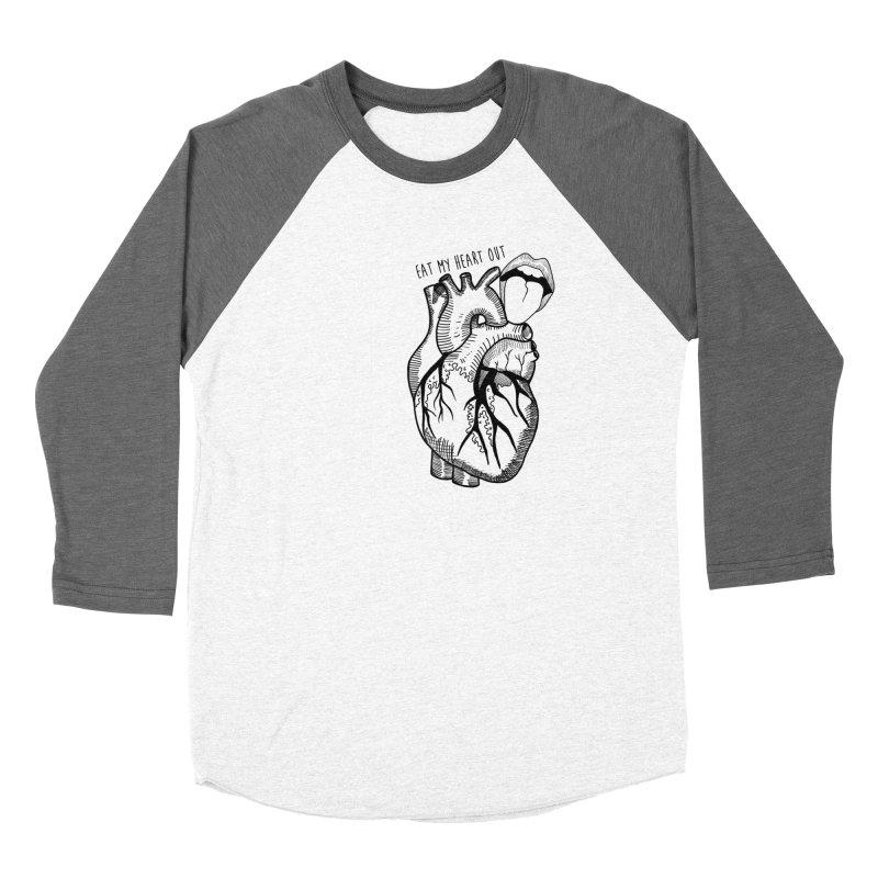 Eat My Heart Out Women's Longsleeve T-Shirt by Nicole Christman's Artist Shop