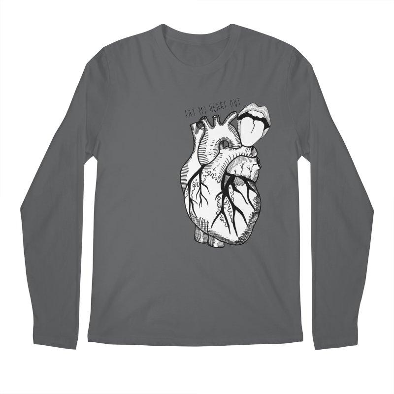 Eat My Heart Out Men's Longsleeve T-Shirt by Nicole Christman's Artist Shop