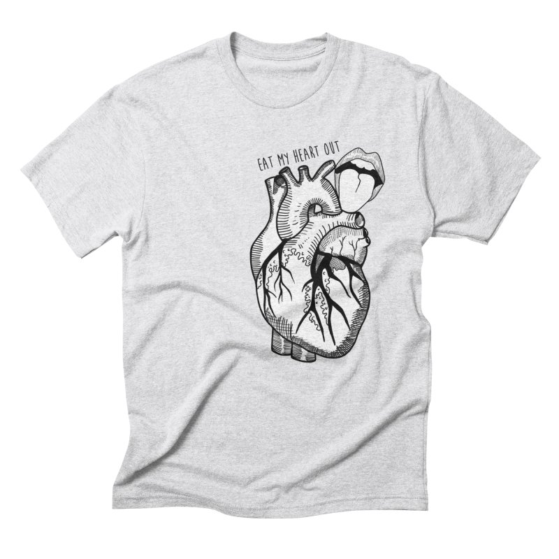 Eat My Heart Out Men's Triblend T-Shirt by Nicole Christman's Artist Shop