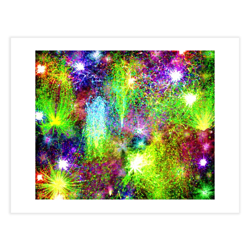 Color Explosion Home Fine Art Print by nicolekieferdesign's Artist Shop