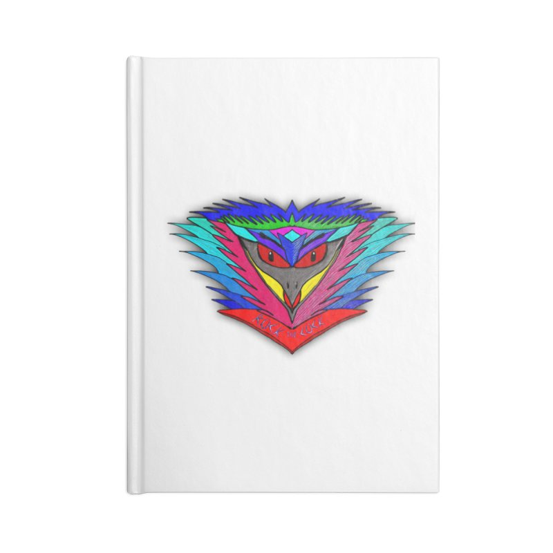 Rock the Cock Accessories Notebook by nicolekieferdesign's Artist Shop