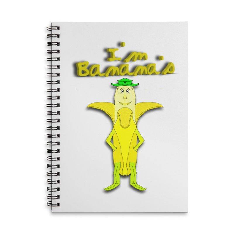 I'm Banana's Accessories Notebook by nicolekieferdesign's Artist Shop