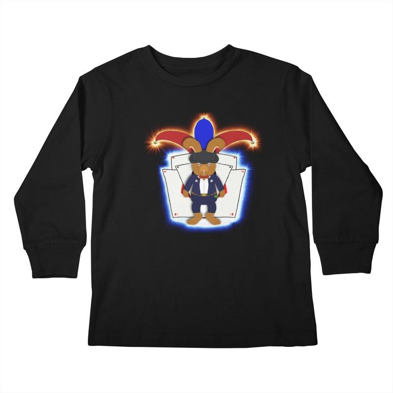 Magical Rabit Kids Longsleeve T-Shirt by nicolekieferdesign's Artist Shop