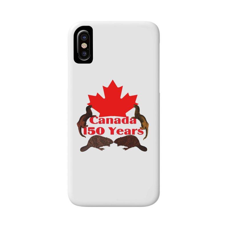 Canada 150th Accessories Phone Case by nicolekieferdesign's Artist Shop