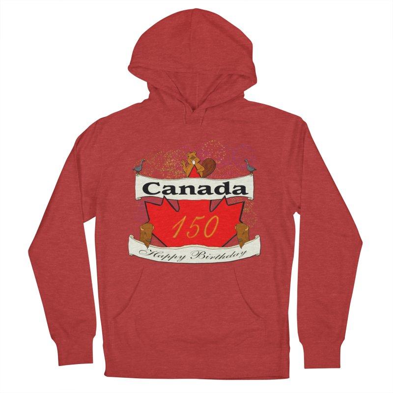Happy Birthday Canada Women's Pullover Hoody by nicolekieferdesign's Artist Shop